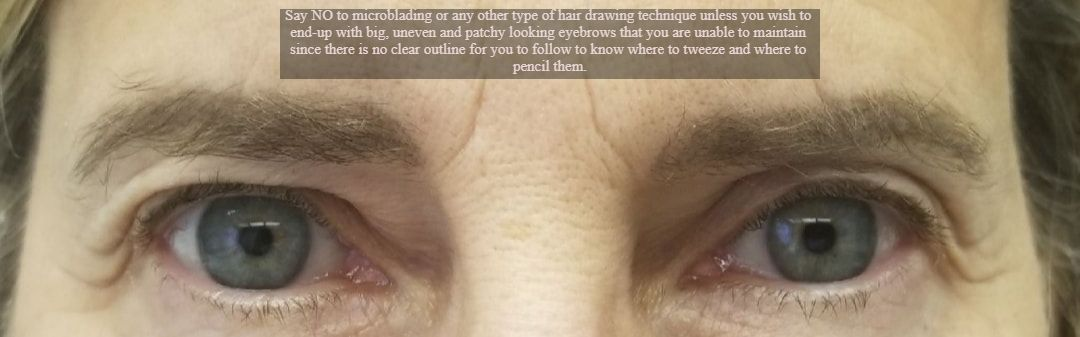 The difference between Microblading vs Soft tap vs Ombre